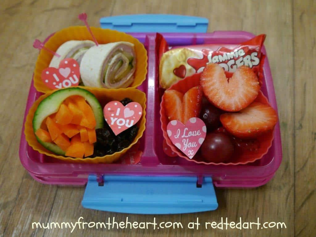 Valentine S Day Ideas Valentine S Bento Box Red Ted Art S Blog