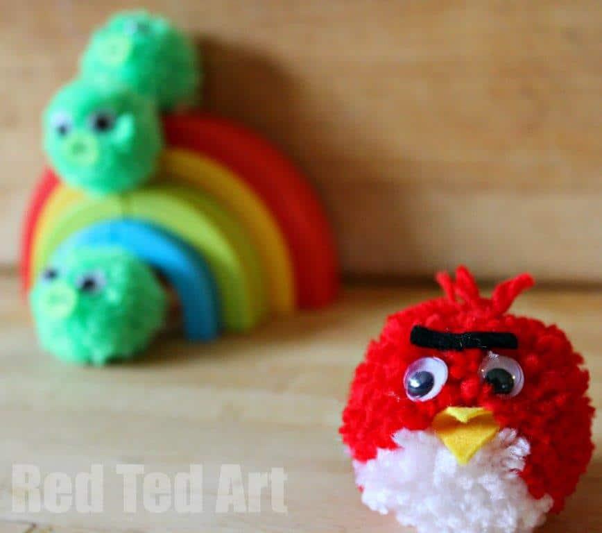 Angry Bird Crafts