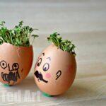Spring Activities: Cress Heads