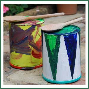 easy tin can drums