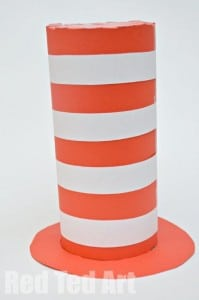 Easy Cat in the Hat Craft