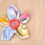 Fabric Flower Craft How To