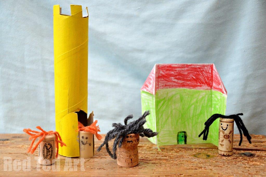 Fairy Tale Crafts for Preschoolers Cork People