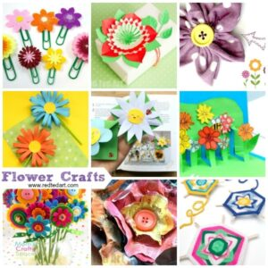 Gorgeous flower crafts for everyone