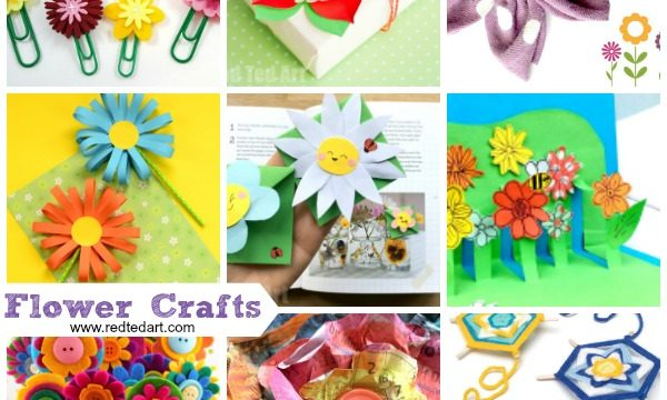 Fun flower crafts