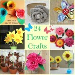 Flower Crafts Ideas