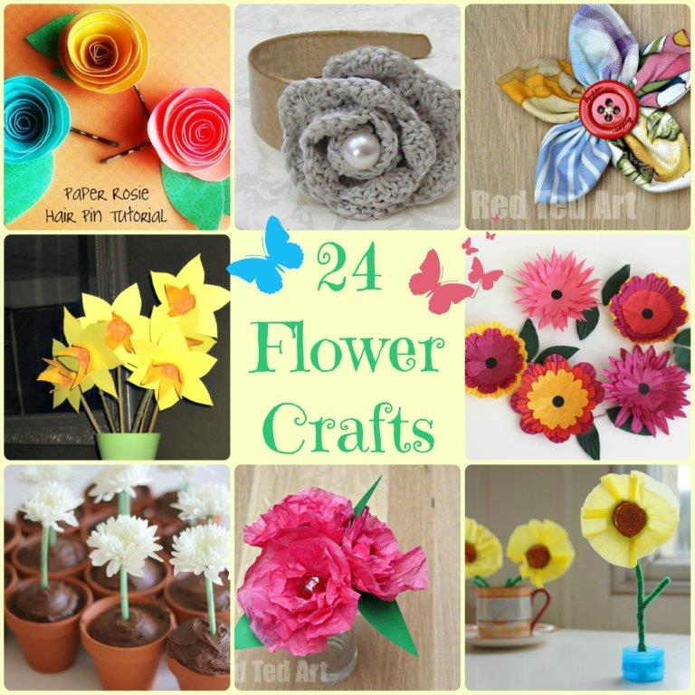 Flower Craft Ideas wonderful Spring Summer u0026