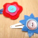 Flower Hair Clip craft