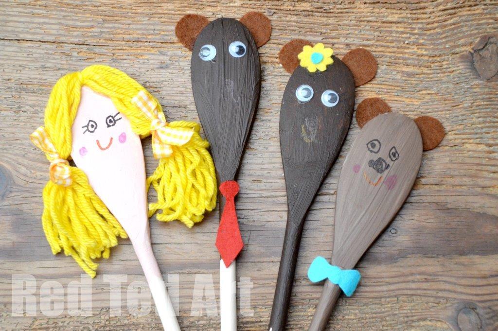 Golidocks And The Three Bears Craft