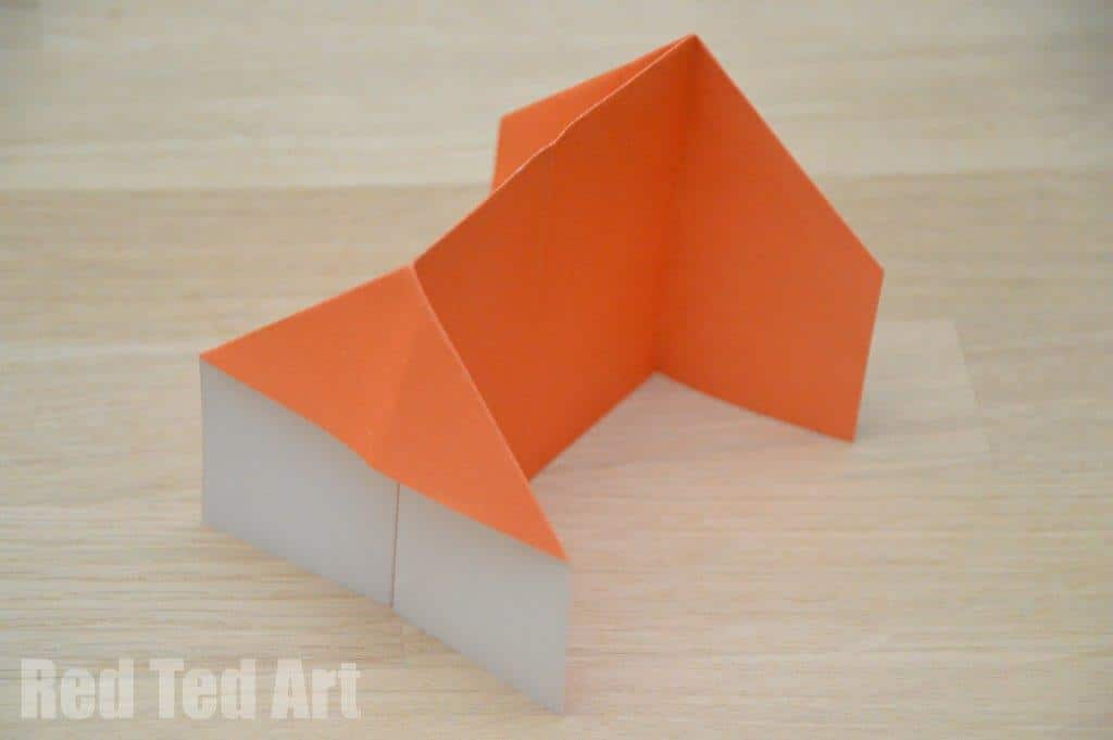 Origami House How To