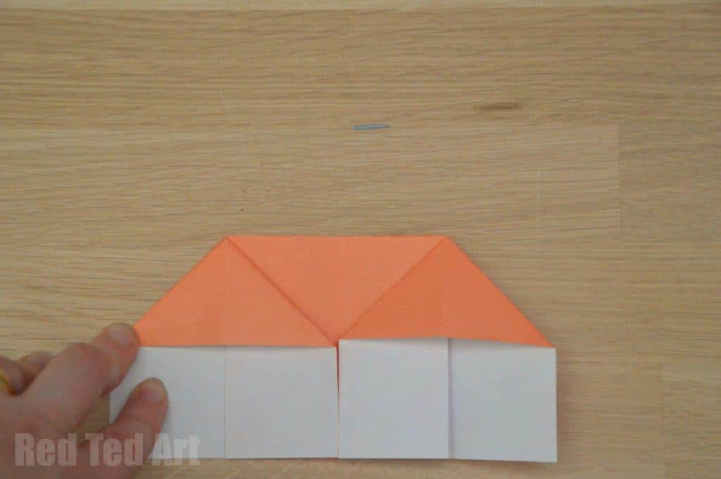 Origami House Step 10