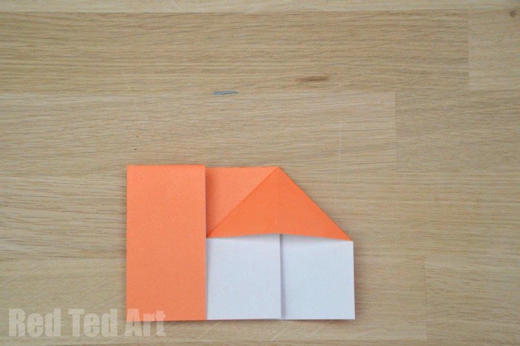 Origami House Step 8