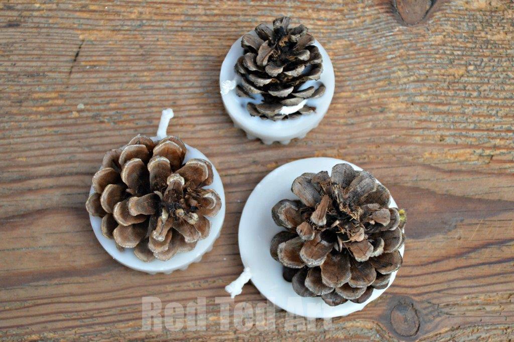 Pinecone craft ideas