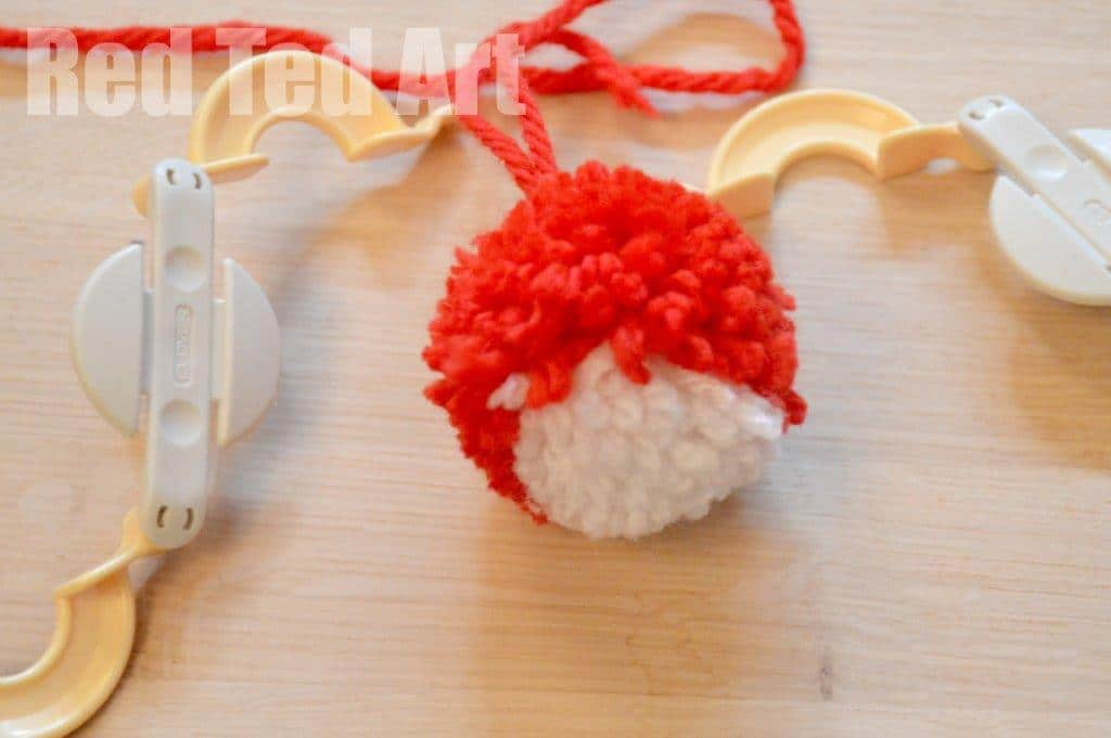 Pompom crafts for kids