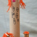 Rapunzel Craft for Preschoolers