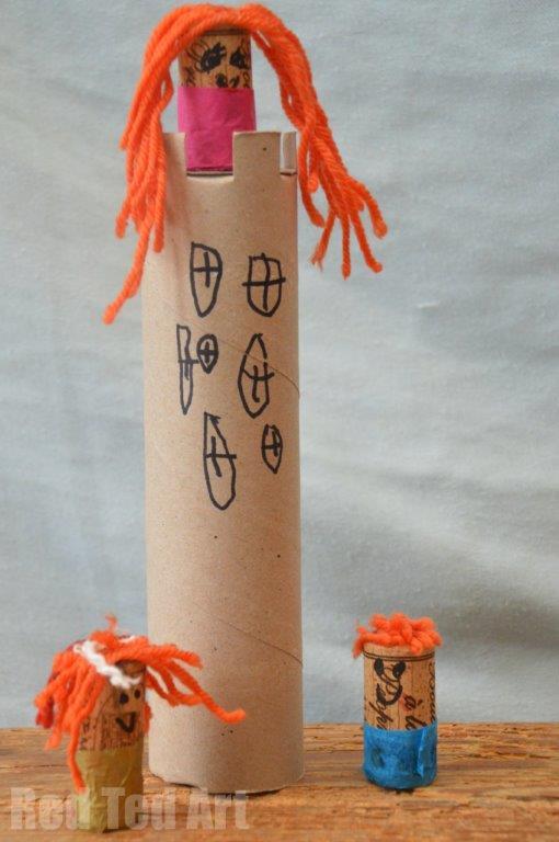 Rapunzel Craft for Preschoolers