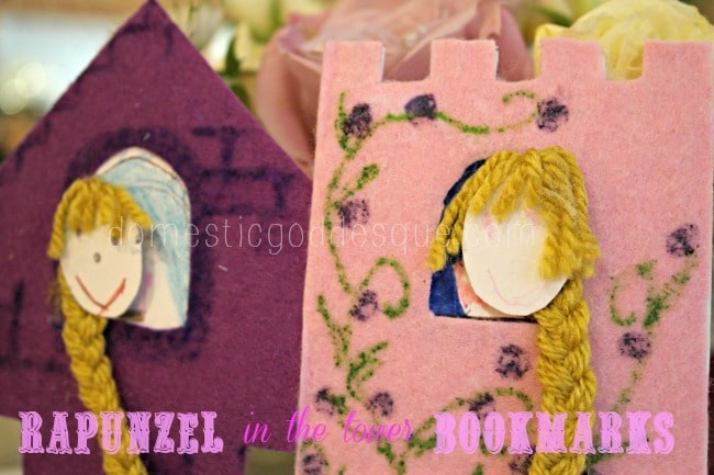 Rapunzel-Fairytale-Bookmarks