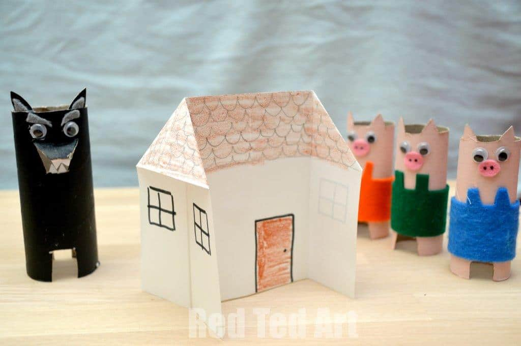 Three Little Pigs Houses
