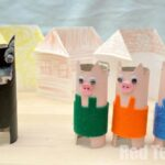 Three Little Pigs TP Roll Craft