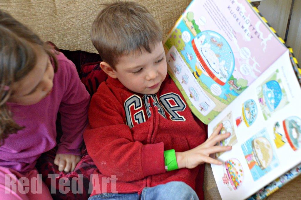 World Book Day Activities - Bookmark Craft