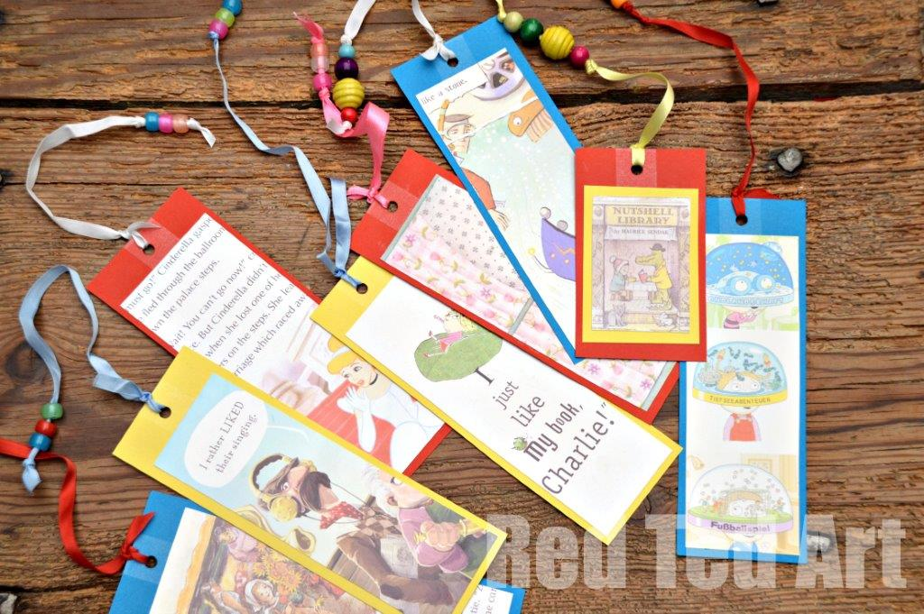 Bookmarks For Books Part - 43: World Book Day - Book Bookmarks (without Destroying Your Favourite Books!)