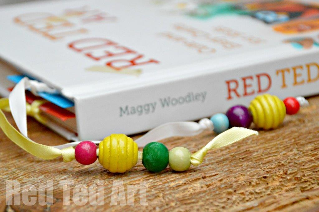 World book day craft easy bookmarks red ted art 39 s blog for Book craft ideas