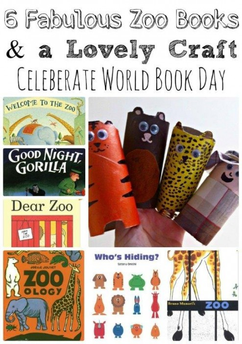 World Books Day - Zoo Books and Craft Idea