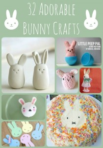 Easy BUNNY CRAFTS: 32 Adorable Bunny Crafts