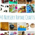 40 Nursery Rhyme Crafts