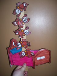 5 little monkeys crafts