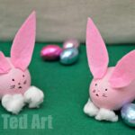 Egg Decorating: Easter Bunny Craft