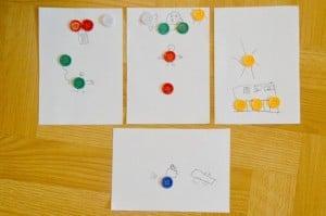 Button Art for Kids