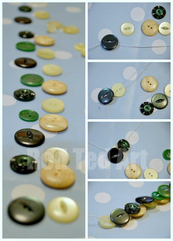 Button Crafts - Bracelets
