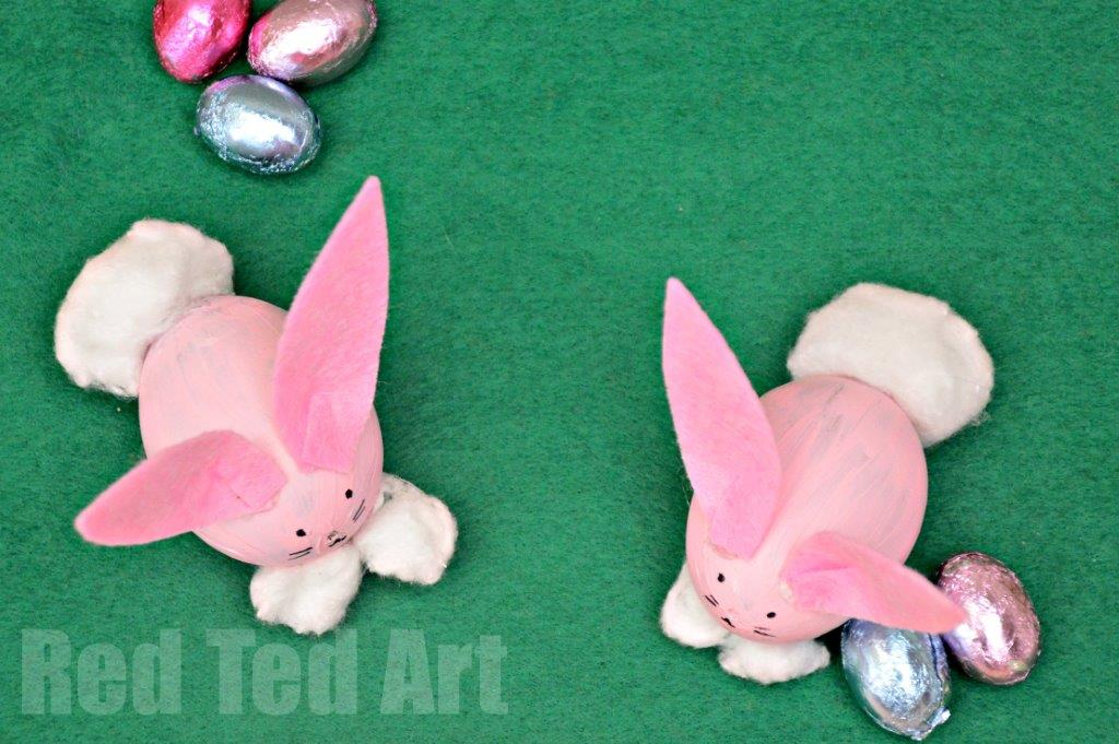Egg Decorating Easter Bunny Craft Red Ted Art S Blog