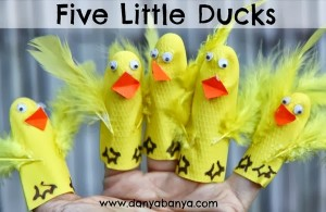 Five Little Ducks Craft