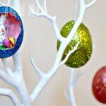 Glitter Egg Diorama