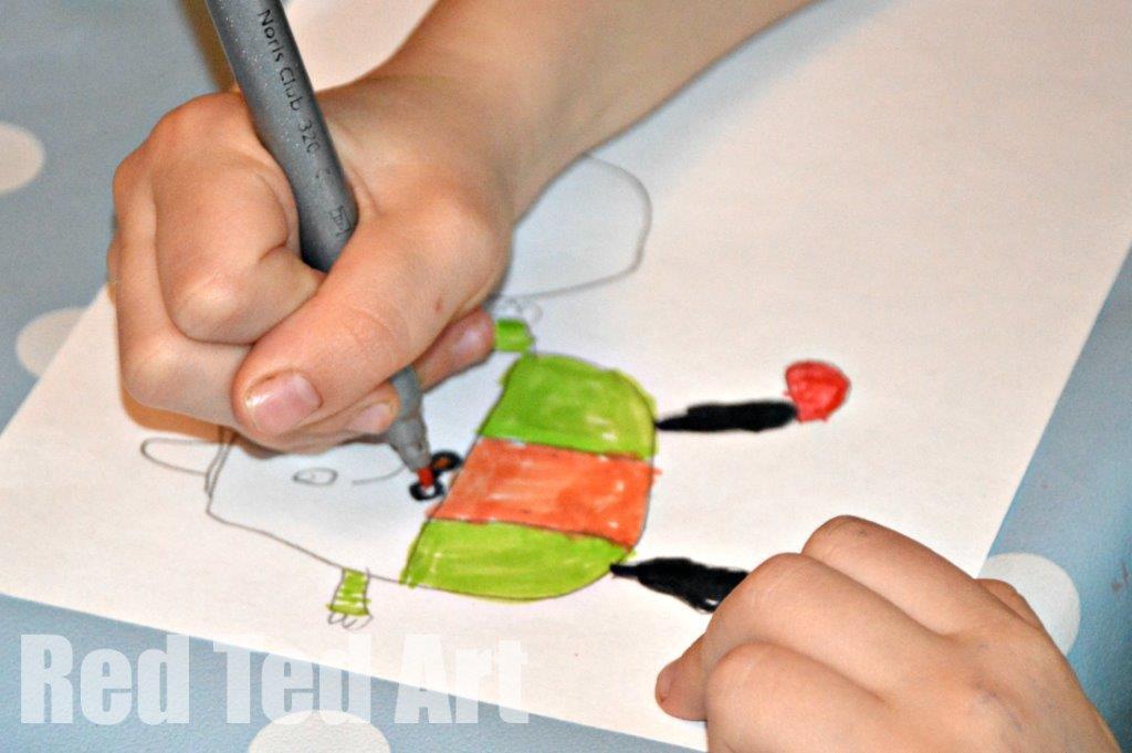 Humpty Dumpty Craft - designing your humpty