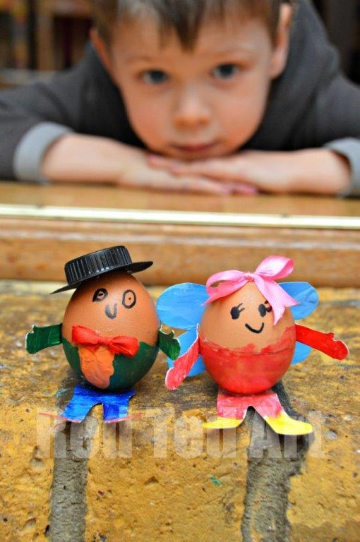 Humpty Dumpty Egg Decorating Idea