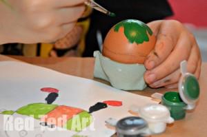 Humpty Dumpty - Painting