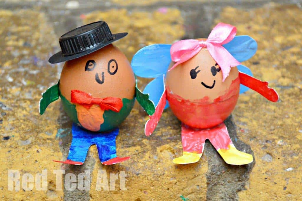 Humpty Dumpty Crafts – Egg Decorating