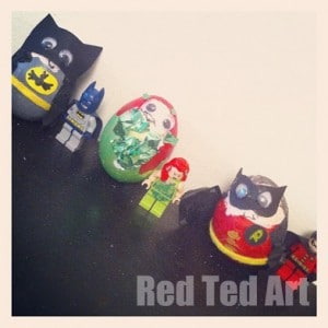 Robin Easter eggs