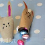 Quick Toilet Paper Roll Bunnies – East Crafts for Kids