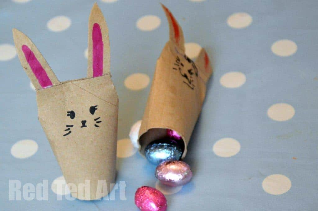 TP Roll Bunny Craft