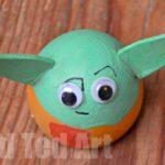 Egg Decorating Ideas: Yoda Easter Egg