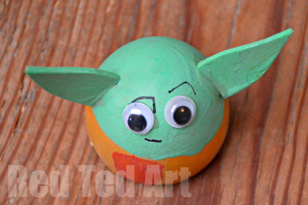Egg decorating ideas yoda easter egg red ted arts blog negle Gallery