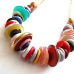 Button Crafts Necklace
