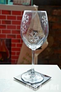 Decorating glasses