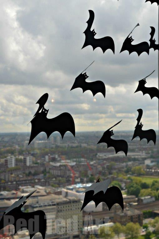 Halloween decorations bats