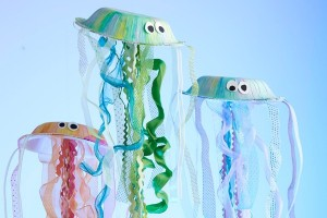 Paper Plate Crafts for kids - jelly fish