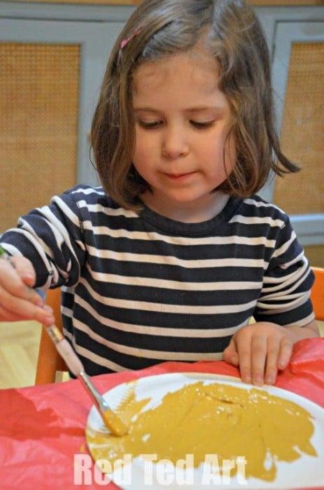 Paper Plate crafts for preschoolers - Spring Nest